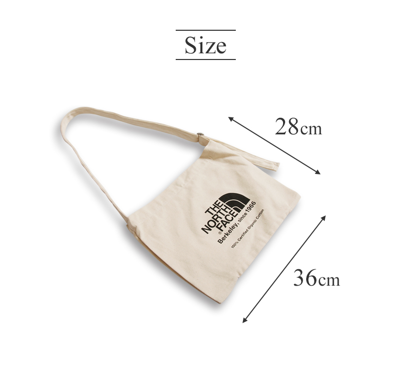 【全品ポイント10倍開催中】ノースフェイス ミュゼットバッグ オーガニックコットン ショルダーバッグ THE NORTH FACE Musette Bag NM81765