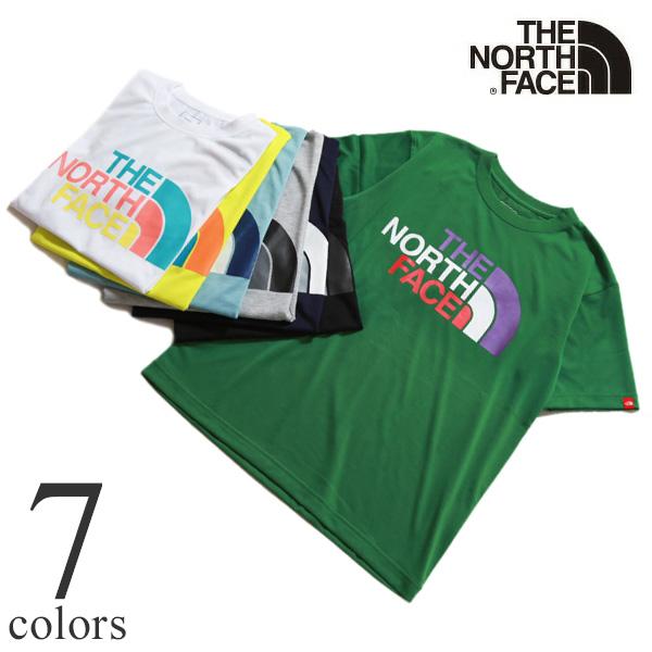 THE NORTH FACE ショートスリーブカラフルロゴティー NT32134