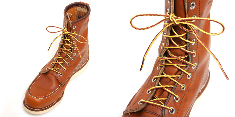 Lea Rare Red Wing Sures Taslan Boots Race REDWING Genuine 63 Inch