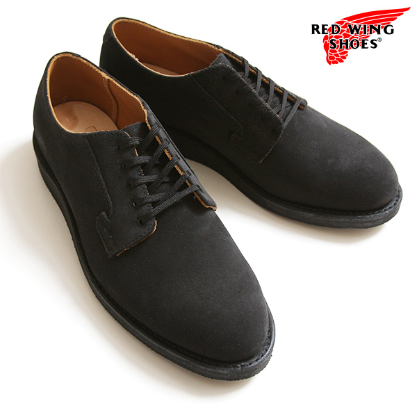 2ab2feab Red wing redwing REDWING postman Oxford black rough out leather 9112  country regular article ...