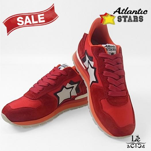 Atlantic STARS アトランティックスターズ ANTARES アンタレス FR-85B スニーカー メンズ レッド 赤 イタリア製 国内正規品【送料無料】
