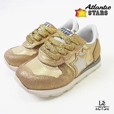 【国内正規品】Atlantic STARS/アトランティックスターズ/AQUARIUS/アクアリウス/キッズスニーカー/COO86/ゴールド/金/ベビー/イタリア製/国内正規品【送料無料】