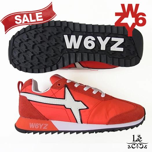 W6YZ ウィズ WIZZ FLY-M スニーカー レッド メンズ イタリア ブランド 国内正規品 27500【送料無料】