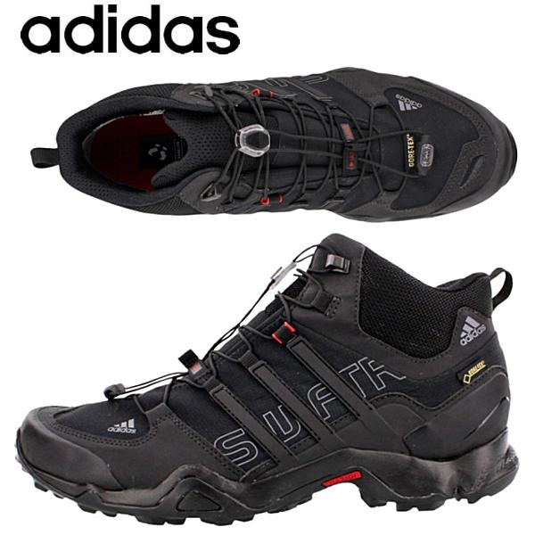 beauty reasonable price presenting 44136 Adidas adidas men [telex Swift R mid GTX] TERREX SWIFT R MID GTX  outdoor shoes waterproofing trekking shoes ● B44136