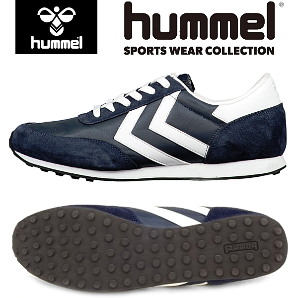 new arrival d6421 192d0 Hummel hummel SEVENTYONE SPORT seventy one sports NAVY men's women's  low-cut sneakers-