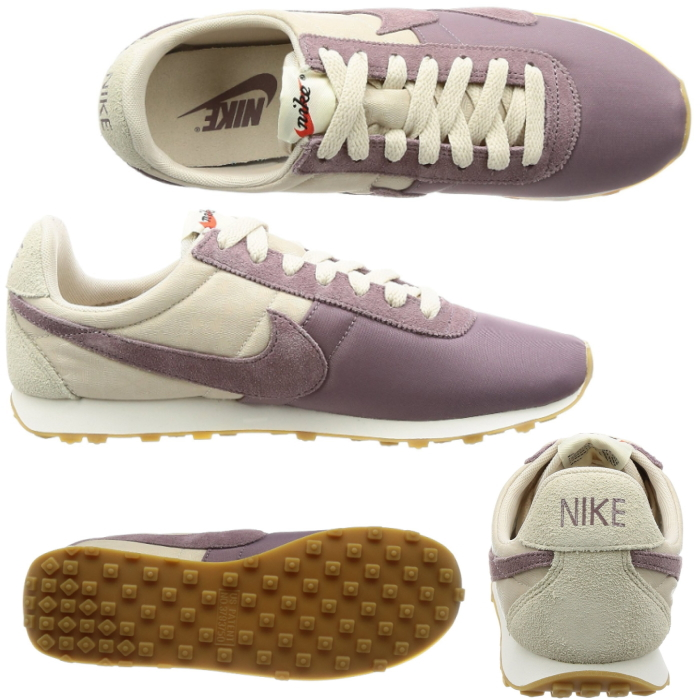 I succeed to upper and niceness クッショニング which are light, and were superior  in breathability where the Nike pre-Montreal racer vintage women shoes ...