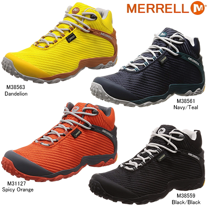MERRELL Chameleon 7 Mid Gore-Tex J98281 Outdoor Shoes Boots Mens All Size New