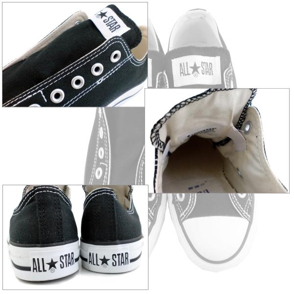Converse men's women's sneakers all star slip-on CONVERSE ALL STAR SLIP III OX slip 3 low-cut men's ladies sneaker slip-on 1