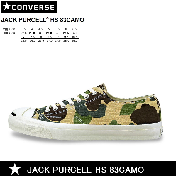 7927e4654ad5e Select shop Lab of shoes: Converse Jack Pursel HS 83 duck CONVERSE ...