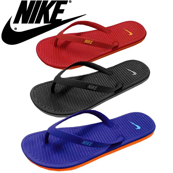 耐克男士凉鞋耐克 SOLARSOFT THONG II 488160 thong 凉鞋翻转翻牌-