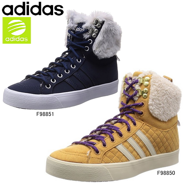 d00d4ae8a0c7 Adidas neoparkwinter high adidas NEO PARK WTR HI W F98850 F98851 with faux  fur women s sneakers-