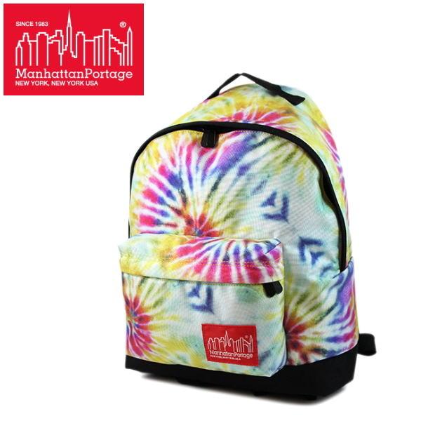 マンハッタンポーテージ 限定 バックパック MP1209TD Manhattan Portage Tie Dye Print Fabric Big Apple Backpack【PFPF-08jhc】●
