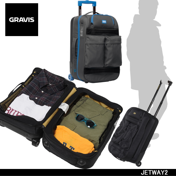 Gravis Carry Bag Cabin On Compatible Size Jetway 2 11345100 Suitcase For Travel