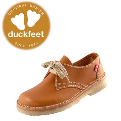 ダンスク ダックフィート DANSKE duckfeet DANSKE duckfeet ダンスク ダックフィート 330 クレープソール・レースアップカジュアル [ブラウン]【102/202-T08vhlc】