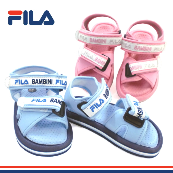 5f42c335035b Fila kids Sandals shoes FILA ROSYIV 7PJLS8671 kids boys girls Velcro sandal  sanndaru sandal-