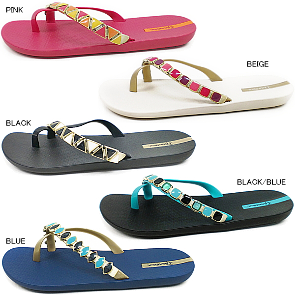 527e880a8d16 The girl from Ipanema Sandals Women s thong Sandals IPANEMA MIX GLAM  PM81438 rubber Beach sandals-