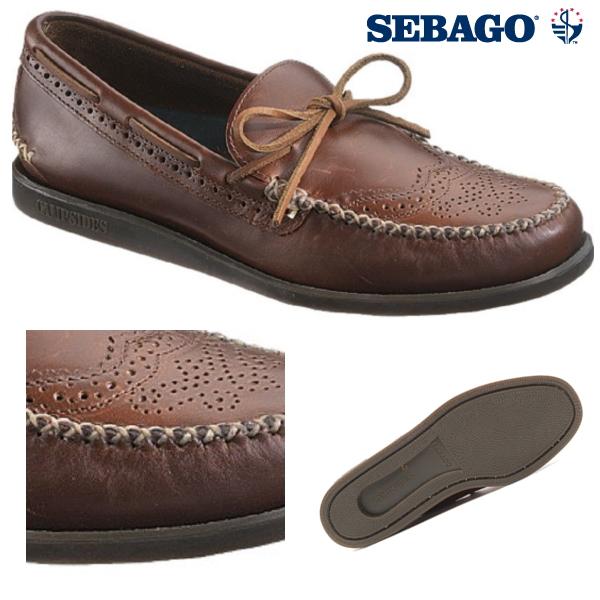buy popular 8fa1a e3533 Sebago deck shoes Wingtip SEBAGO Campsides camp-side wingtip shoes men's  shoes deck shoes-