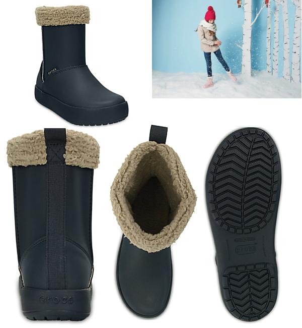 4dc5edced Select shop Lab of shoes  Crocs boots kids children s winter boots ...
