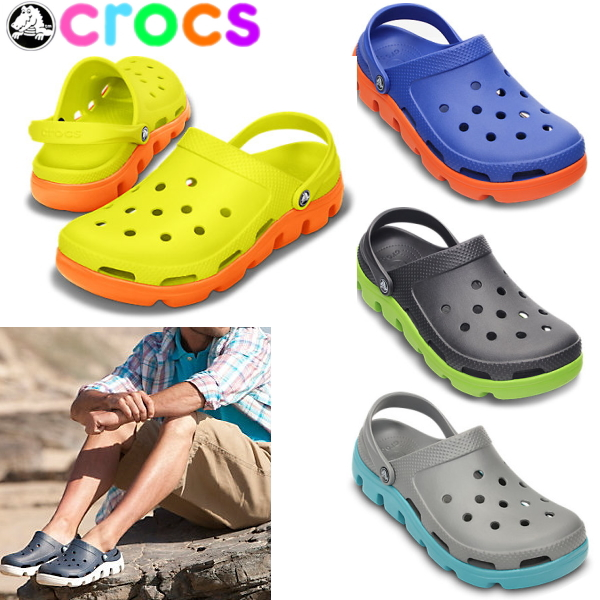8f04e6e584ce Crocs mens Womens sandal Duet sport clog crocs duet sport clog 11991 women s  men s lightweight shoes ladies men s crog sandal-