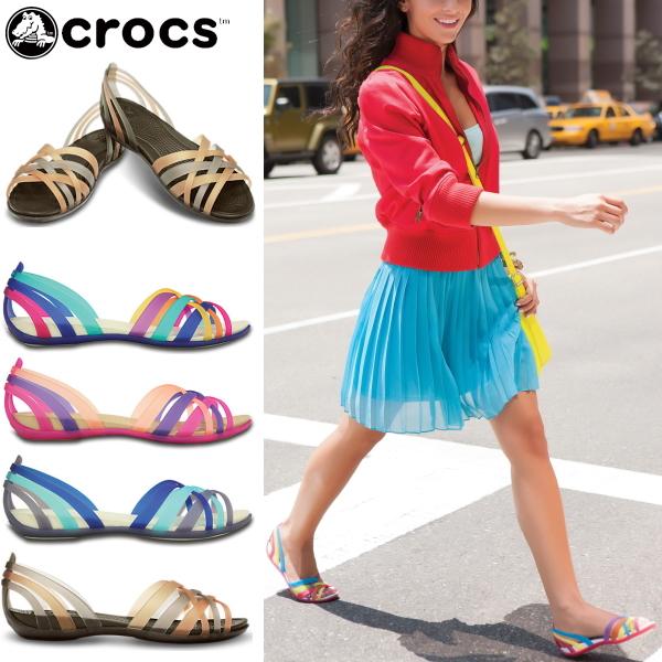 4016d4434fd00 Select shop Lab of shoes: Crocs women's Sandals Wallace flat women ...