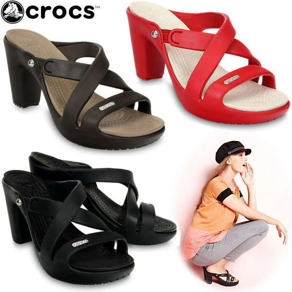 crocs Women's Cyprus High Heel Sandal ~ The Super Shoes