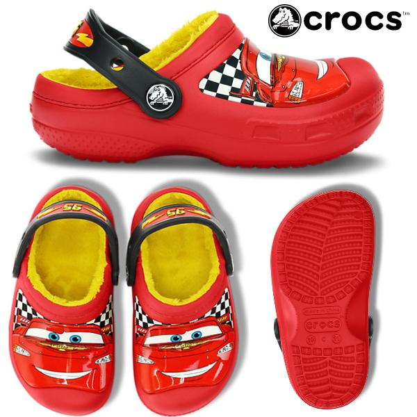 2a2ecff4d756dc Crocs kids   baby Cars2 clock band crocs creative crocs McQueen lined clog  15260 creative Crocs McQueen Linda yogui cars 2 Disney Pixar sandal clog  kids ...