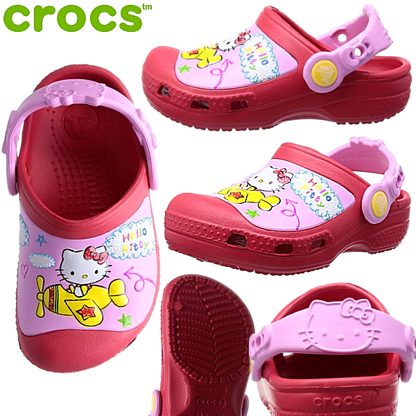 957eae643c1be Select shop Lab of shoes  Crocs creative clog Hello Kitty Plains ...