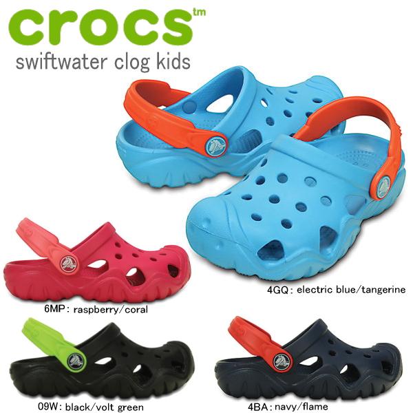 楽天市場】クロックス キッズ crocs swiftwater