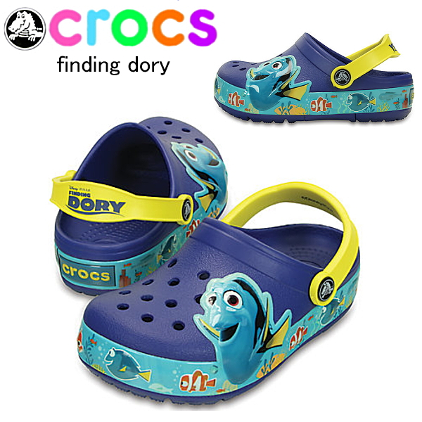 35cbcff5f Kids Crocs Crocs Liz Nemo and Dory clog kids crocslights finding dory ciog  kids 202881 crocs-