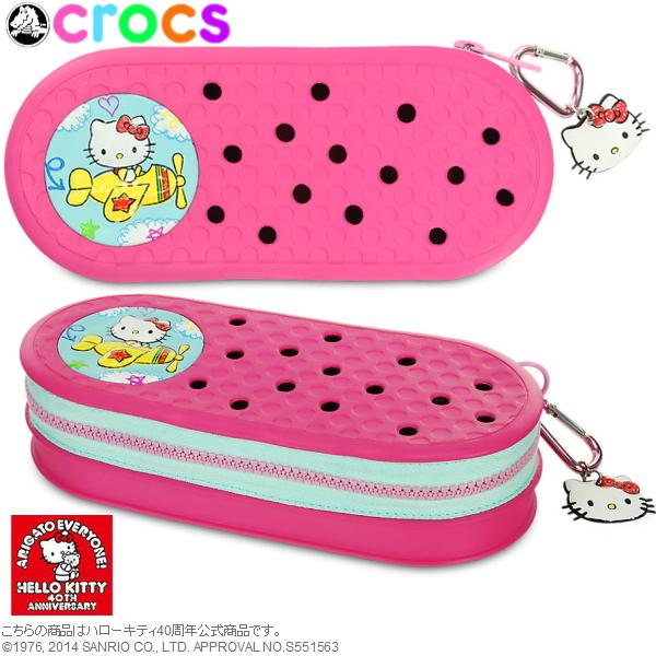 Clocks Clock Band Pencil Case Hello Kitty Plains Crocs Crocband Planes 35186 Girls Cute Anime Disney