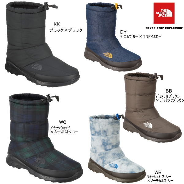 the north face bootie