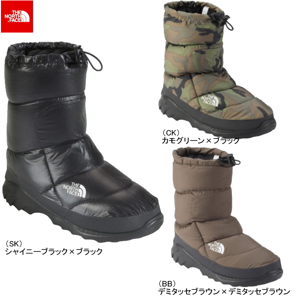 205098769 -THE NORTH FACE NUPTSE BOOTIE 3 NF70197 north face mens boots
