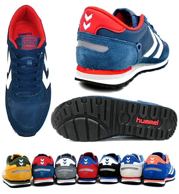 info for fa139 6ac33 Hummel sneakers reflex mens womens classic shoes hummel Reflex Lo-Hummel  retro running shoes