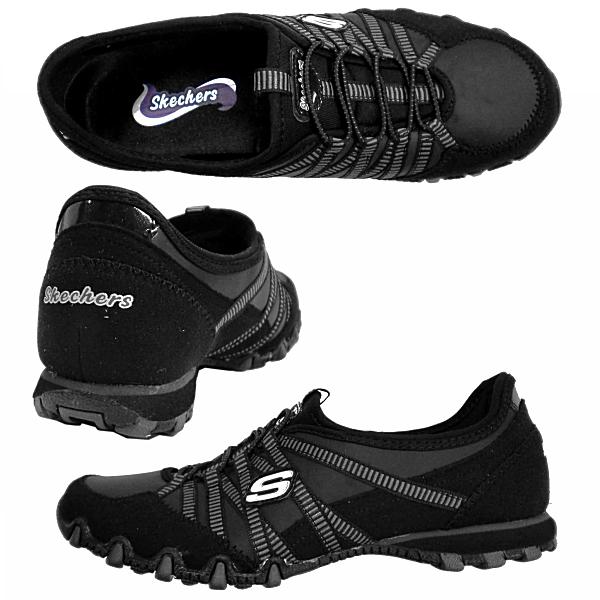 斯凯奇形状 ups 运动鞋女士薄运动鞋凯奇 21140 J 黑色女士们偷偷女士运动鞋-唯一滑的类型