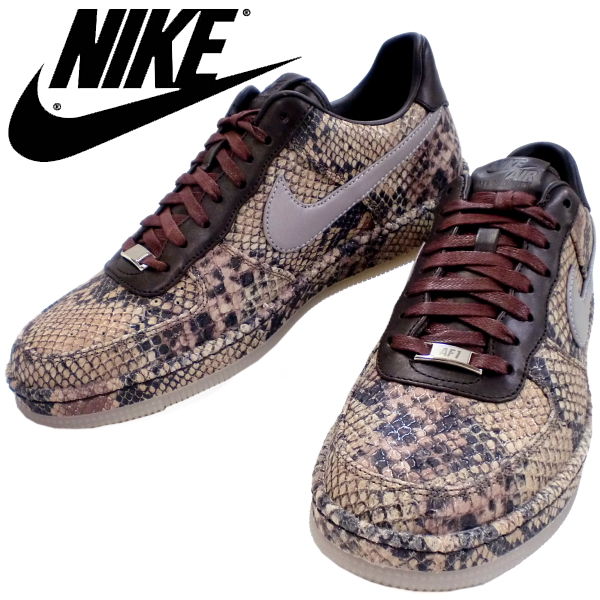 new concept b2a0d fd5c4 Nike Air Force 1 low cut downtown Python snake NIKE AIR FORCE 1 DOWNTOWN LW  PYTHON SNAKE 577657-200 Nike sneakers mens men's men's sneaker-