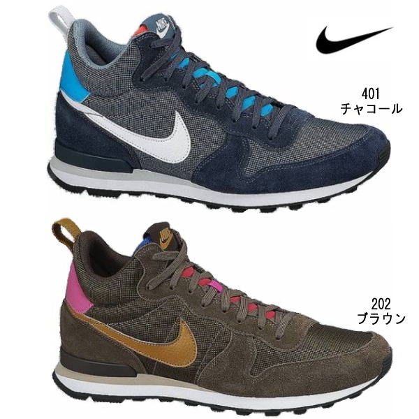 8edc3a3910d9 Nike sneakers men s international list mid NIKE INTERNATIONALIST MID 682844  classic jog shoes 1 running