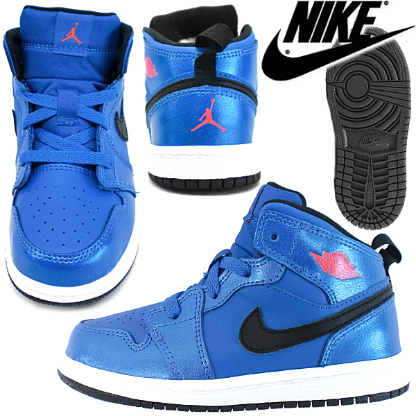 check out 4990b 4255c Nike sneakers kids Jordan NIKE JORDAN 1 MID BT [640735-423] baby kids  sneaker kids shoes nike sneaker kids baby [12-16 cm]-