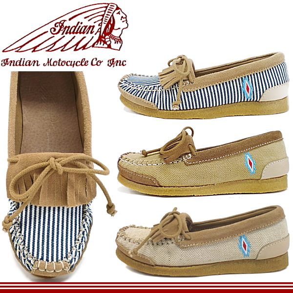 eb6c24bce77ae Indian Indian moccasins ladies casual shoes ID-3103 Indian Moto cycle-ladies  Indian Indian ...