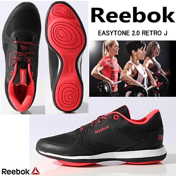 锐步轻松口气 2.0 复古 J 锐步 EasyTone 2.0 复古 J V65765 运动鞋形状起鞋减肥鞋女士运动鞋锐步-