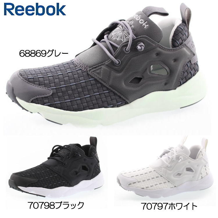 Reebok fury light new woven women s sneakers Reebok FURYLITE NEW WOVEN  V68869 V70797 V70798 CLASSIC classic sneakers- dd0870283