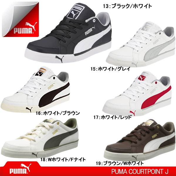 PUMA sneakers mens PUMA COURTPOINT J 352527 PUMA coat points cut athletic  shoes school shoes men s men s sneaker- 3436443fd
