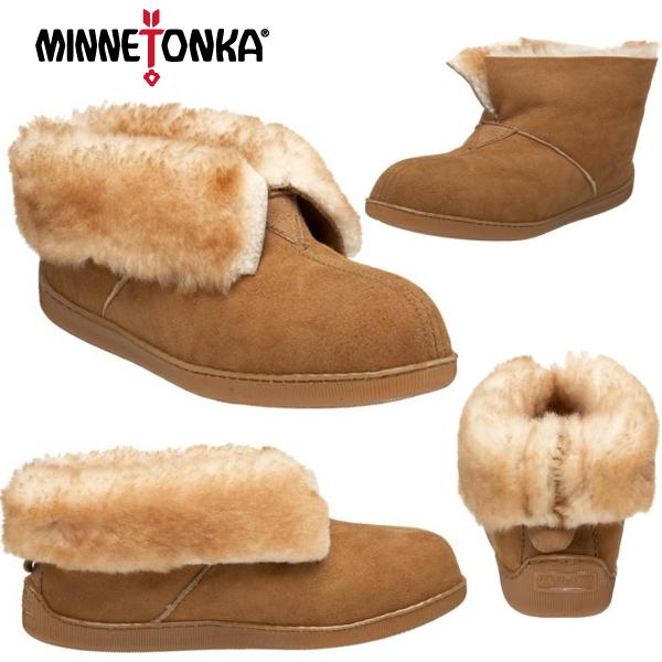 6e5f3cc979a08 Minnetonka moccasins Sheepskin genuine boots MINNETONKA Sheepskin Ankle  Boot Slipper shoes women's shoes boots ankle-
