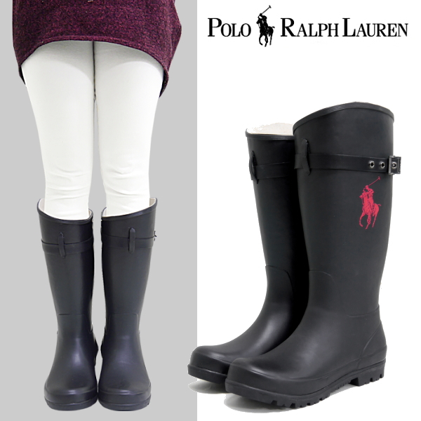 ce23f94eb5b Polo Ralph Lauren boots POLO RALPH LAUREN FALLS RAINBOOT [998983] knee high  boots shoes President shoes Junior Ladies ○