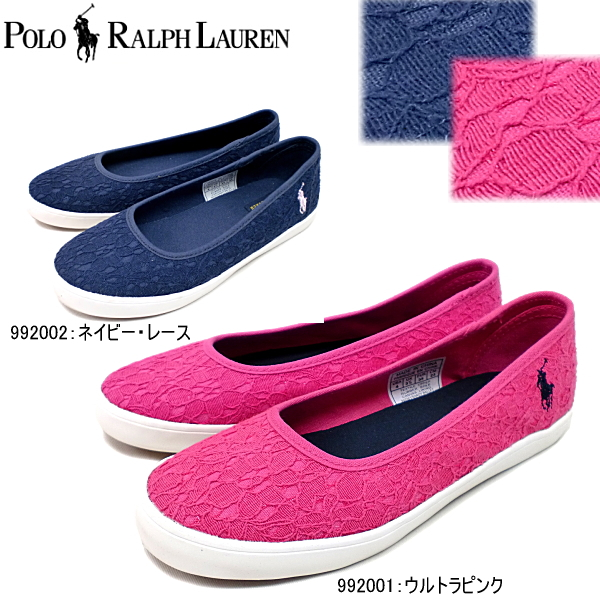 Polo Ralph Lauren Sandy Valley SANDY BALLET 992001   992002 pink Navy  women s sneaker pumps- d95e8b7135