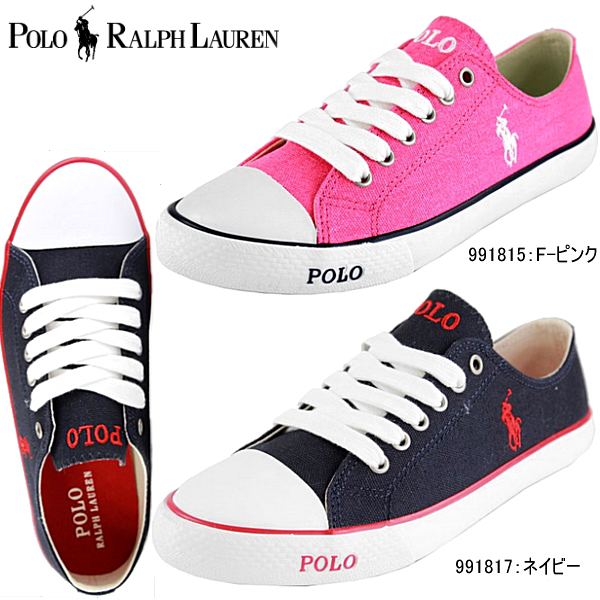 Polo Ralph Lauren Carson POLO RALPH LAUREN CARSON junior women s canvas  sneakers 991815   991817- daccb19d40