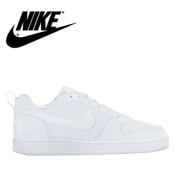 Nike women sneakers coat Barlow low SL NIKE WMNS COURT BOROUGH LOW SL  845,726,111 white / white / white Lady\u0027s sneakers●