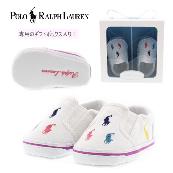 30dcd7eb3b Polo Ralph Lauren POLO RALPH LAUREN BAL HARBOUR REPEAT 25217 Bal Harbour  repeat baby slip-on shoes baby sneakers [10.5 cm] shoes children shoes boys  ...