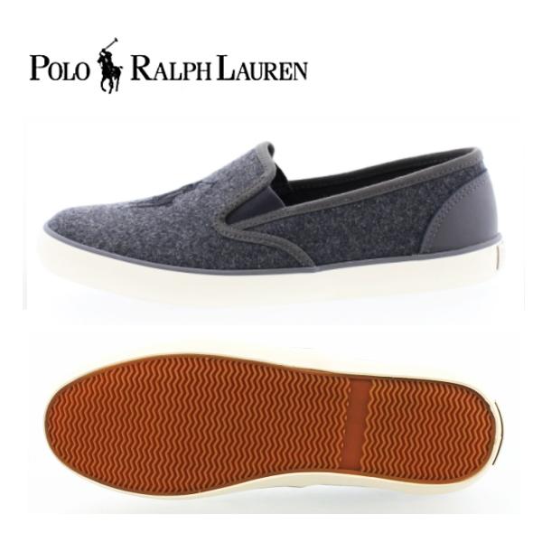 quality design 02f2f ba7c7 Polo Ralph Lauren sneaker junior women's Ralph Lauren sneaker POLO RALPH  LAUREN SERENA II /SERENA WOOL 998188 GREY/BLACK Serena wool slip-on-