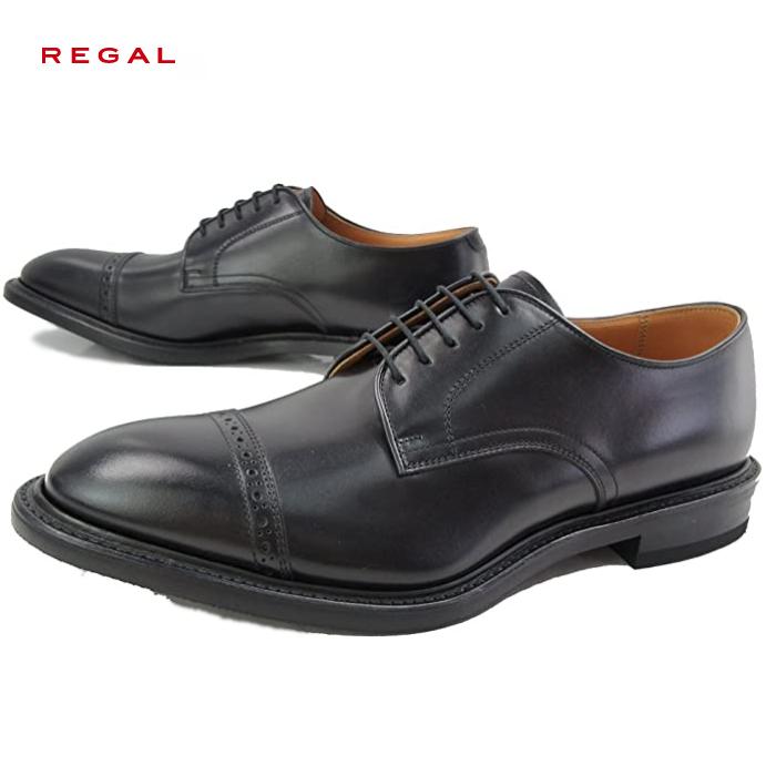 リーガル 靴 メンズ REGALリーガル 05NR メンズ ビジネスシューズ ストレートチップ 本革 日本製