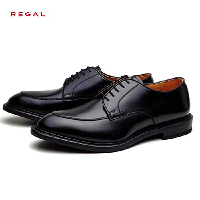 リーガル 靴 メンズ REGALリーガル 06NR メンズ ビジネスシューズ Uチップ 本革 日本製